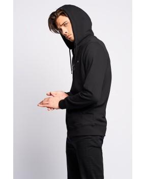 Hoodie black jacket VALENCIA