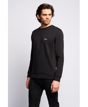 Sweat crewneck SANTORIN Noir